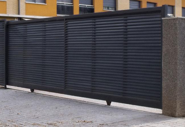 motorizacin de puertas correderas - Puertas Correderas Exteriores